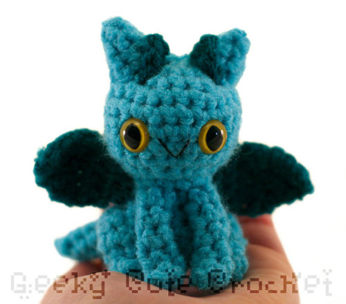 Turquoise dragon available here.