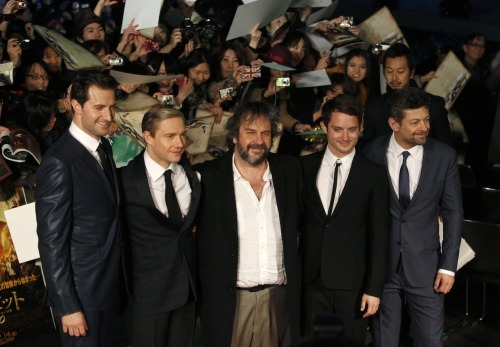 warnertimes:  The Hobbit : An unexpected Journey Cast