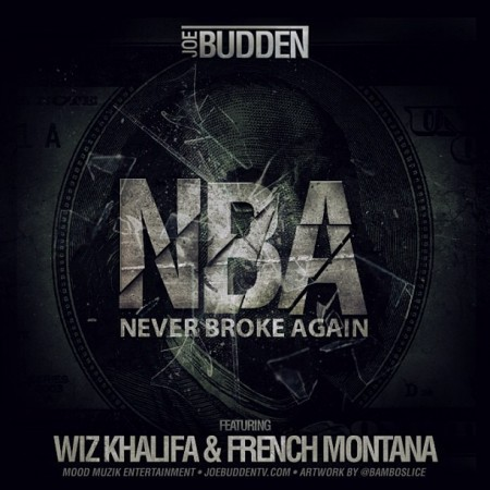 "SINGLE ARTWORK: Joe Budden – ""NBA (Never Broke Again)"" (feat. Wiz Khalifa & French Montana)"