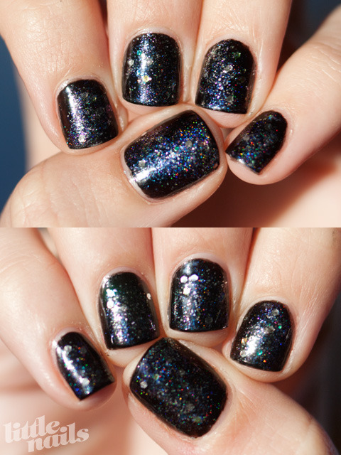Orly Liquid Vinyl, Ozotic 903, Ozotic 908, Ozotic 534, China Glaze Snowglobe, Milani Jewel FX Silver, Sinful Colors Queen of Beauty read more here…
