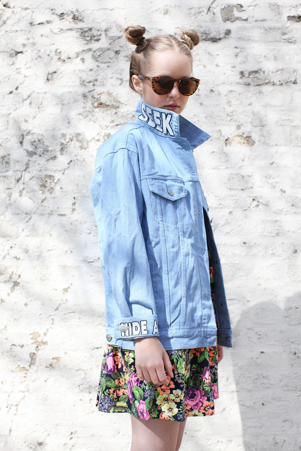 thewhitepepper:  Hide and Seek Denim Jacket from THE WHITEPEPPER