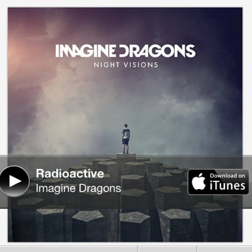 I Love this one… #Radioactive #ImagineDragons 🎶New discovery for today @davestyles ha 👍#music 🎶