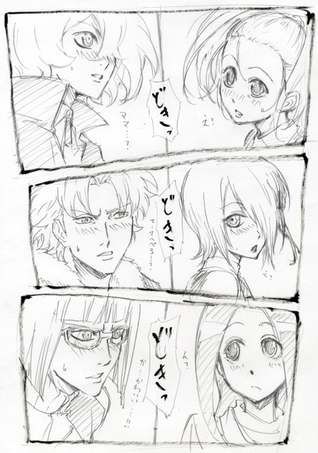 icantholdallthisanime:  Weekly official sketch