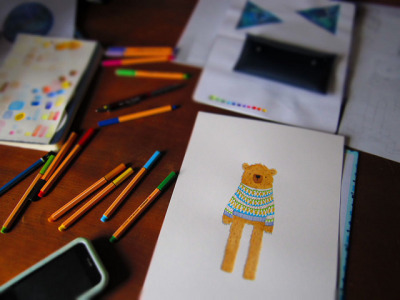 Bear in a Jumper on Flickr.