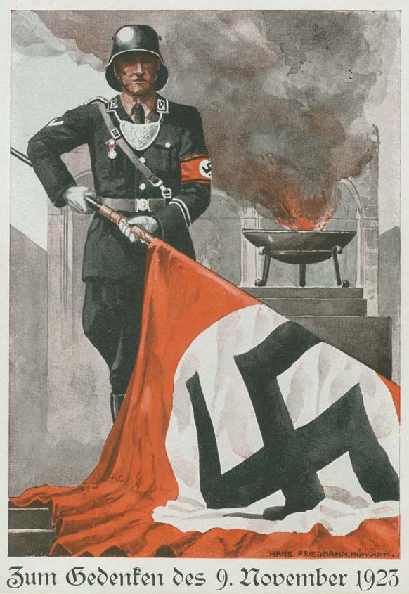 Nazi pin up girl art