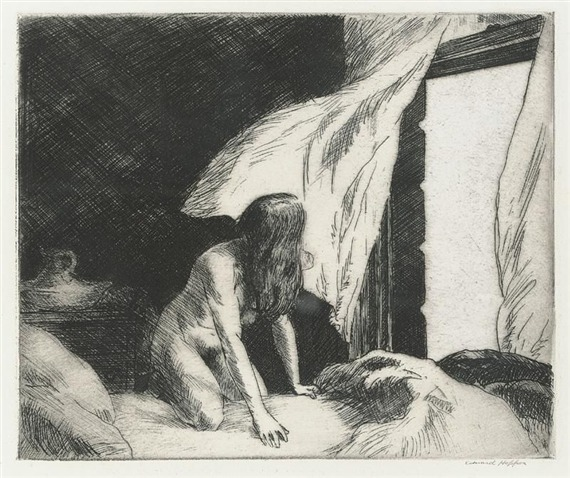 adanvc:  Evening Wind. 1921. by Edward Hopper