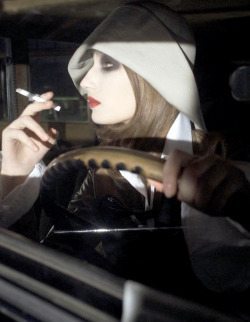 from On the RoadEugenia Volodina by Steven Meiselfor Vogue Italia, 2002
