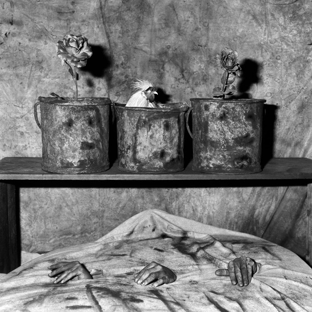 Three hands, 2006Roger Ballen