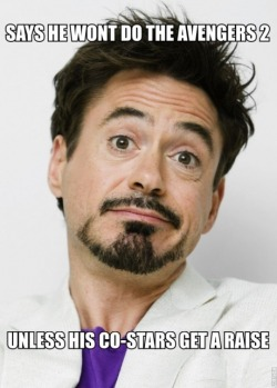 heartfeltshadow:  niknak79:  Good Guy RDJ  Oh god how I love this man.