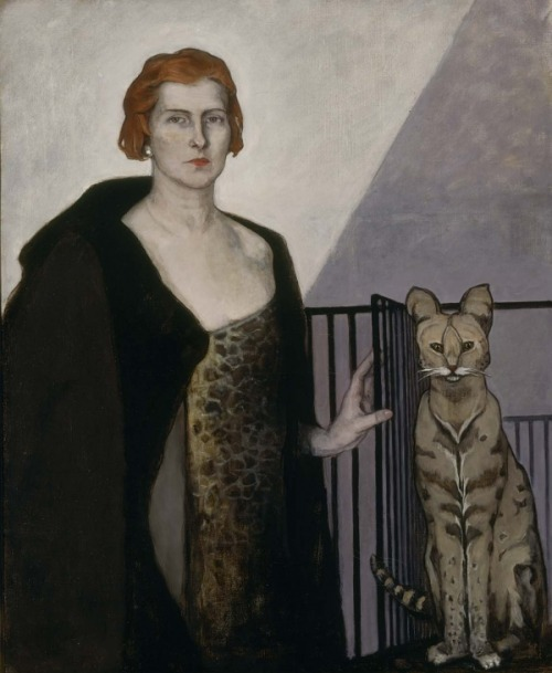 la baronne émile d'erlanger by romaine brooks, 1924