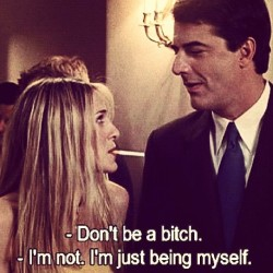 This. #carrie #big #satc #throwback #bitchy #fav
