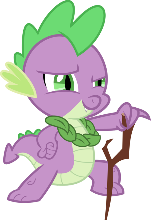 Looking Good Spike! Looking Real Good by ~Exbibyte