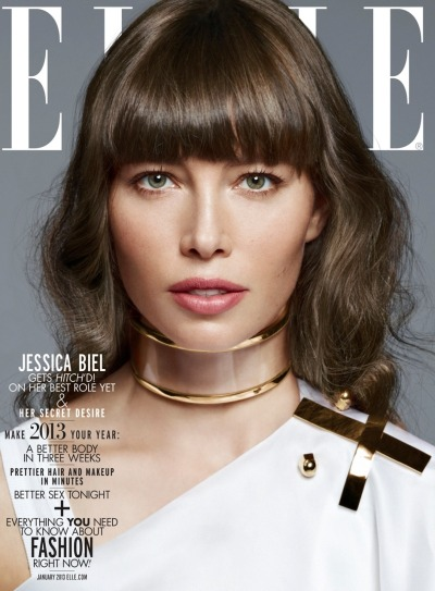 Jessica Biel for Elle [Jan 2013]