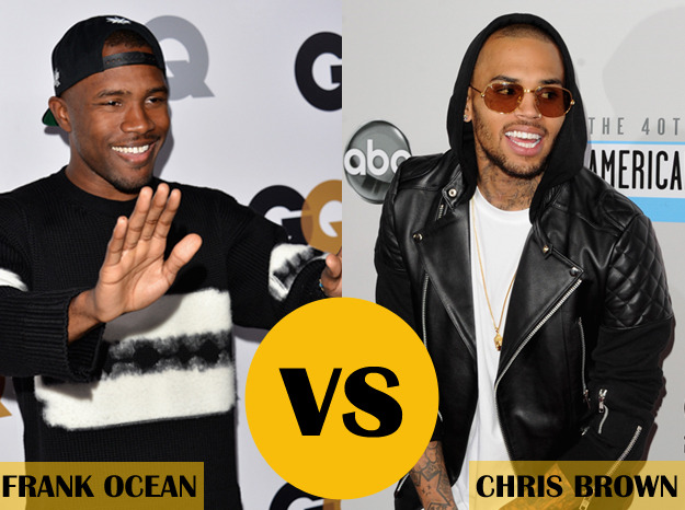 Chris Brown allegedly attacked Frank Ocean last night…