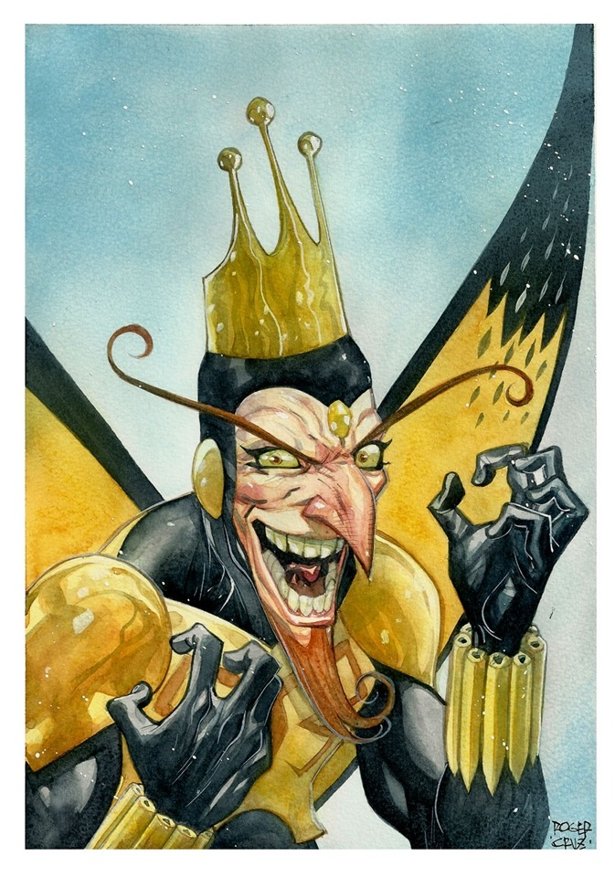 all-about-villains:  The Monarch : by Roger Cruz / Blog