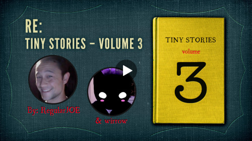 "hitrecord:  TINY STORIES 3! CALLING ALL WRITERS, ILLUSTRATORS, & CURATORS: Come work w/ us on the NEW ""TINY BOOK OF TINY STORIES!"" :oD WATCH THE VIDEO HERE == Contribute all your Tiny Stories HERE! == NOTE: All contributions must be in by JUNE 1, 2013!"