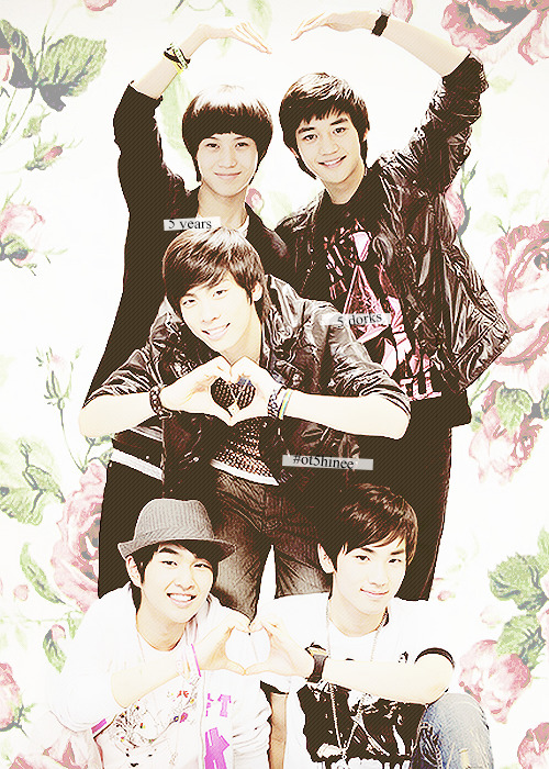 4 days 'til SHINee's 5th anniversary