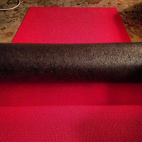 My best friends after a 5 mile run. (Or any run) #yogamat #foamroller