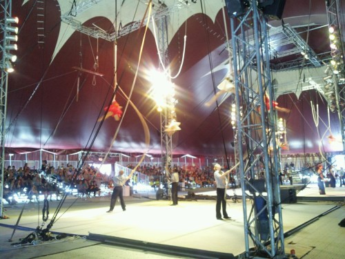 nicee-b:  My school has its own circus and big top…what does your have?