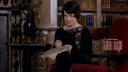 Craftsploitation! Embroidery in Downton Abbey