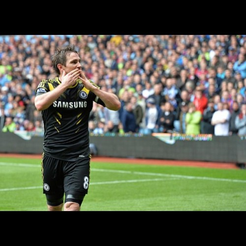 Super Frank! 203rd goals! 😭👍👍😍😍 my biggest inspiration had just made a new record! Oh god I'm crying 😭😭 #lampard #superfrankielampard #chelsea #fc #ktbffh #legend #champion #league  #we #meet #again