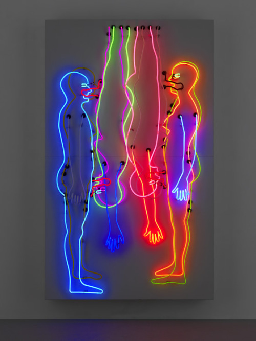 "sex and death/ double ""69"" - bruce nauman"