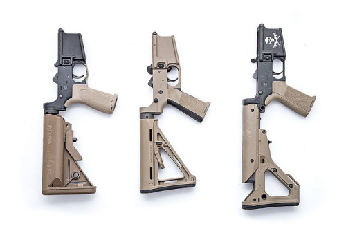 FDE AR15 lower receivers by stickgunner on Flickr.