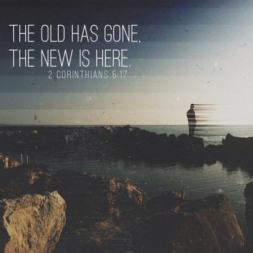 "spiritualinspiration:  As a believer in Jesus, you are a new creation! You have a new spirit, a new walk, a new life! There may be ""old"" things in your life that you are trying to get rid of. Maybe you have old habits or addictions that you want to change. Remember today that the new has come. It's a new day with new opportunities, and it's time for you to be the new you. Let this be the day that you break old habits and addictions. Let this be the day that you move forward into a new life of victory. Let this be the day that you take hold of all the spiritual blessings the Lord has promised—peace, health, protection and victory. Be encouraged today because no matter what is happening in your life right now, you have a chance for a new beginning. Choose today to leave the old behind—leave behind old behaviors, old thinking, and old words and embrace the new by faith because this is your year to experience the new life that He has prepared for you!"