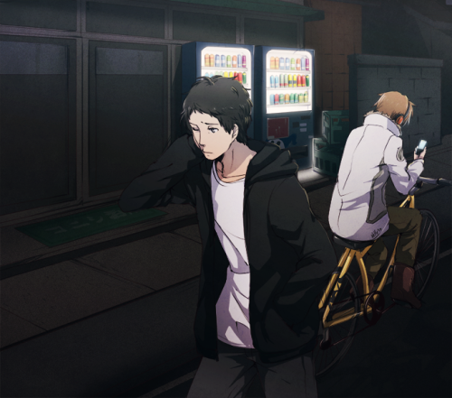 knightarcana:  oeilvert:  bored city boys before souji was in inaba  I'M NOT OKAY