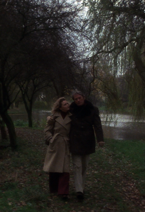 sinemasanati:  Lee Remick and Gregory Peck in The Omen