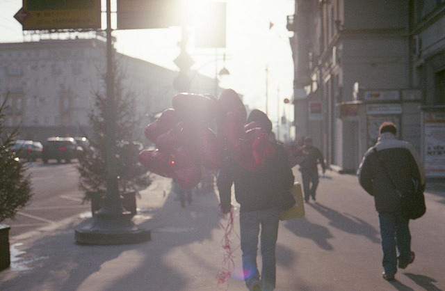 The morning of the Valentine's day on Flickr.Nikon FE, Agfa Vista 400
