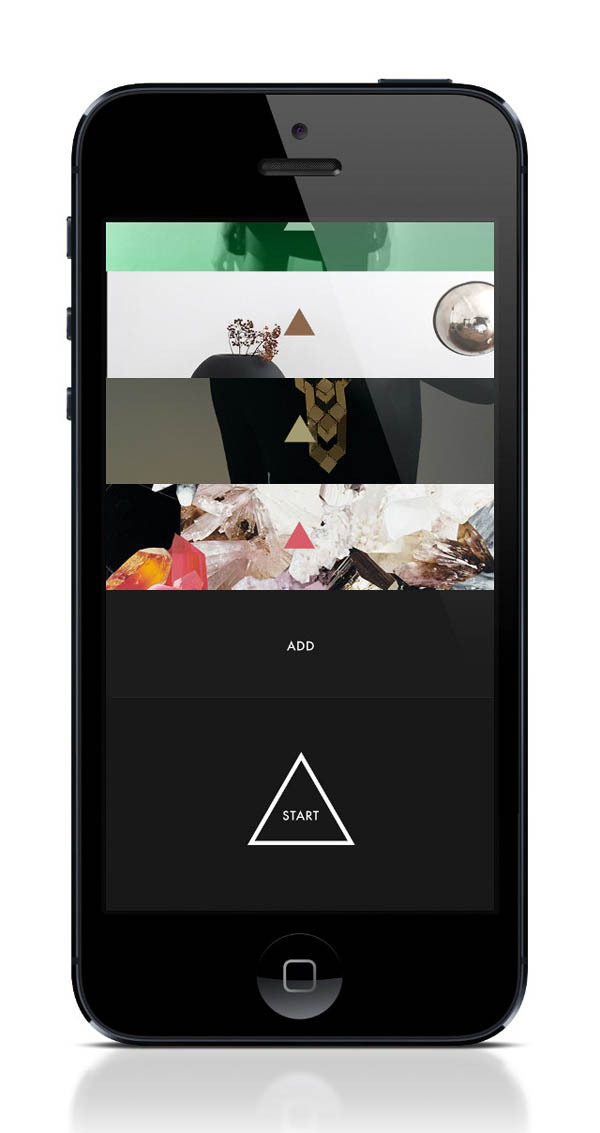 weandthecolor:  Stylish App Design Three first pictures of the next™ iPhone App, an experimental look-book app design project (work still in progress) by the designers Lasse Kusk and Daniel Matzke. More of the iPhone app design on WE AND THE COLORWATC//Facebook//Twitter//Google+//Pinterest