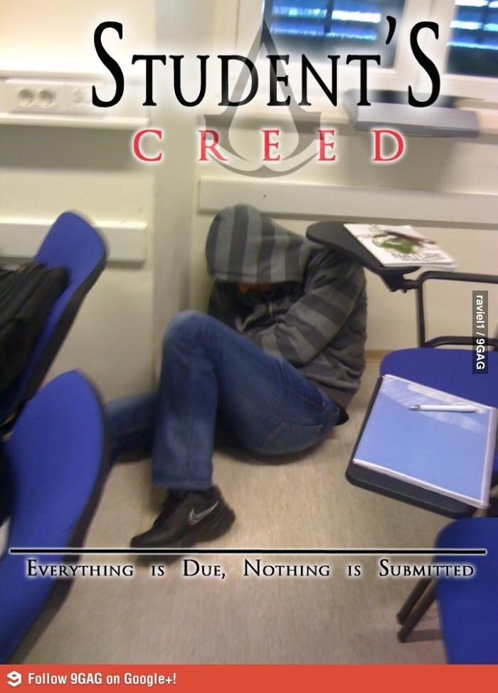 garetshadow:  Student's Creed