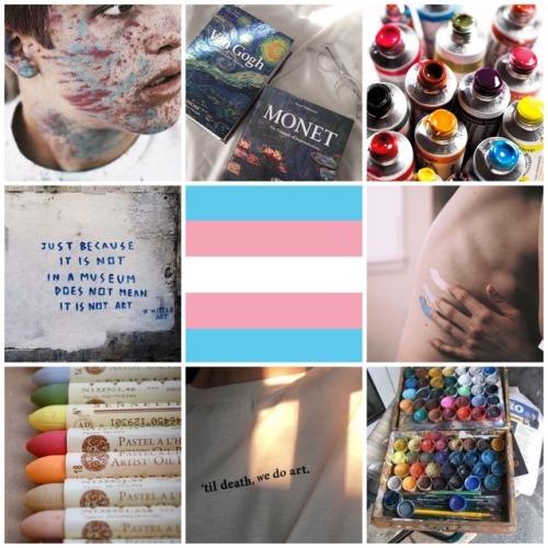 transgender transgender aesthetic transgender moodboard transgender pride transgender flag art art aesthetic art supplies artist artist aesthetic artist moodboard moodboard aesthetic lgbt lgbt aesthetic lgbt moodboard mod Sara