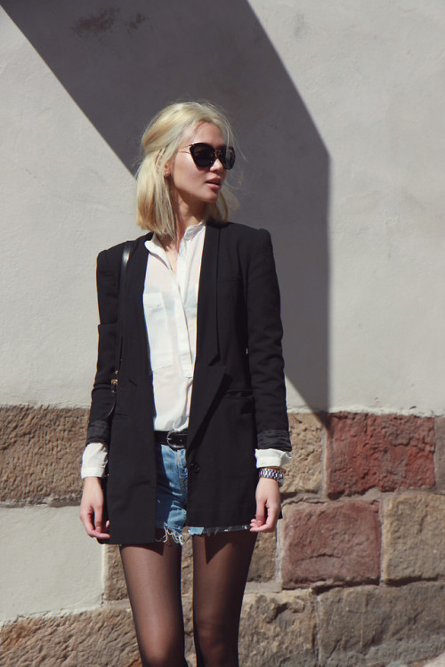lookbookdotnu:  Noir Sunglasses (by Miu N)