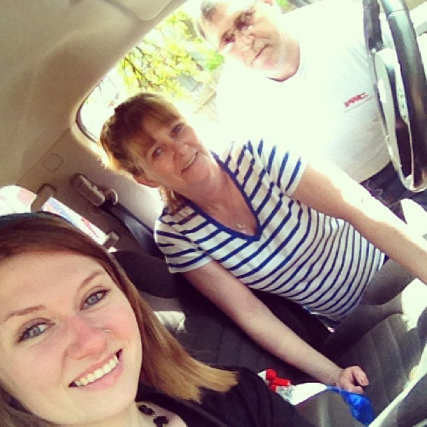 Me, my mum and my stepdad<3 i love you two with everything i am. #me #family #love