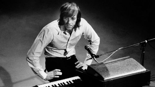 Ray Manzarek, handling the low end while adding the filigree to the top.