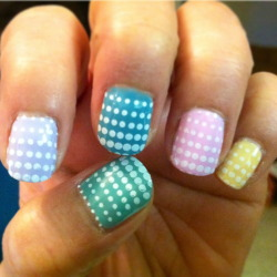nailpornography:   Easter Nails by Rachael G!   Easter NOTW inspiration by thingsbyrachael (you have your ask box turned off so we cant message you but we're gonna use your first easter submission for notw. thank you!)