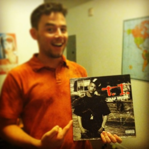 Trap muzik on vinyl. #ti #trap #vinyl