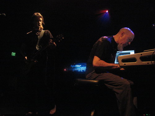 makemusicnotlove:  Steven Wilson (Porcupine Tree) & Jordan Rudess (Dream Theater)