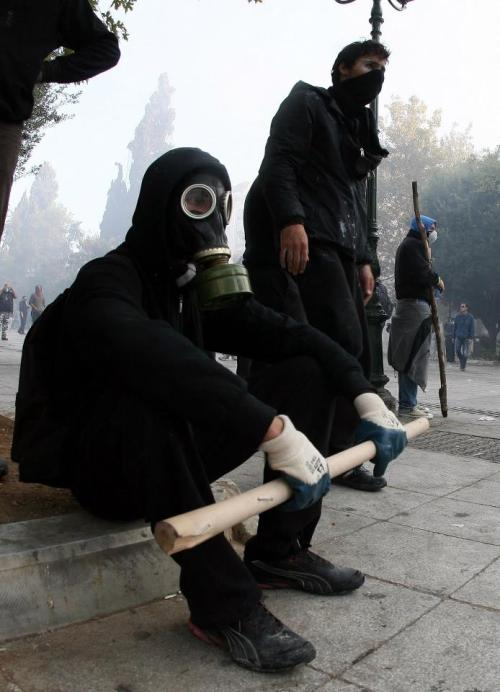 anoncentral:  Trouble maker:   Athens Riots