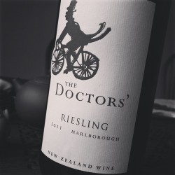 A breezy, supple, juicy, delicious @ForrestWinesNZ Riesling - quite wonderful w/ our 水煮鱼 | #nzwine #wine