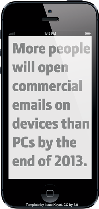 thecontentbrief:  Source: Email Opens on Mobile Devices Close to Tipping Point