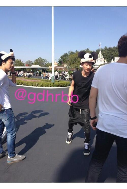 EunHae at Disneyland // cr gdhrbb