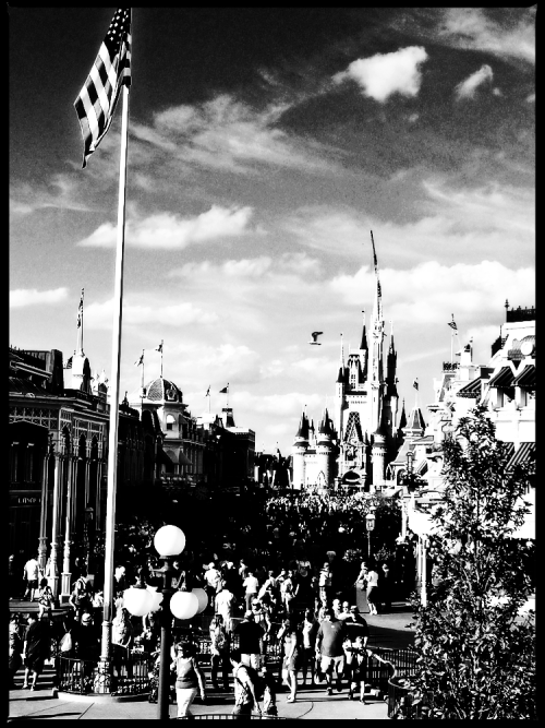 Main Street USA - Magic Kingdom - Walt Disney World - Orlando, Florida