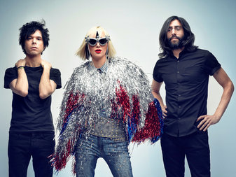 """The Yeah Yeah Yeahs, hypersensitive almost to the point of parody, have never seemed comfortable as rock stars. Which has only made them that much more compelling."" Extensive write-up in this week's NYTimes Magazine here."