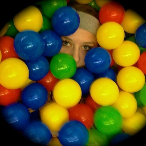 Just creeping. #ballpit