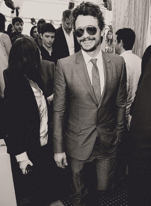 James Franco Hosts a Yacht Event in Cannes 2013