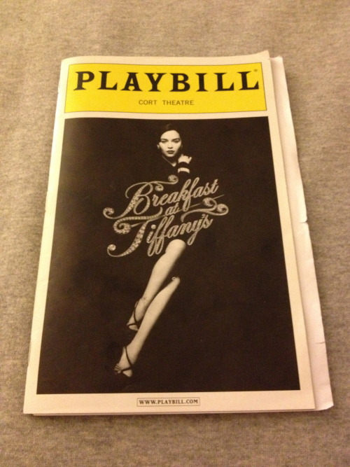 imatheatergeek:  Are you ready? Cause it's here! The first ever Playbill Giveaway from TheaterGeek.net!   This is the Spring 2013 series - Here's what I've got for you…   Signed:Kinky Boots (Full Cast), The Mystery of Edwin Drood (all the stars except Chita and Erin Davie- has u/s Rosa Bud Janine Davita instead), Lucky Guy(Christopher McDonald & Stephen Tyrone Williams), NYCC Encores! presents: It's A Bird, It's A Plane It's Superman (Will Swenson)  Musicals:Rodger's & Hammerstein's Cinderella, Hands on a Hard Body (2 copies),NYCC Encores! presents: …It's Superman (unsigned),  NYCC Encores! presents: On Your Toes Plays:The Testament of Mary, The Big Knife, The Nance (2 copies), Old Hats  Event Playbills: Breakfast At Tiffany's from Opening Night, The New York Philharmonic presents Rodgers & Hammerstein's Carousel  The Rules: 1) Deadline for entries is Friday, June 7th at midnight EST.  I will announce the winners prior to the broadcast of the Tony Awards on June 9th. 2) There will be one winner for each Playbill. (16 in total) First name pulled gets first choice and so on. 2) You must be following me on Tumblr, Twitter or Facebook 3) Reblogs, likes, retweets, and shares all count as entries- you may enter as many times as you wish. 4) There must be a way for me to contact you directly. 5) I will ship outside of the U.S. 6) You can message me with any questions via tumblr, Facebook, twitter or email (amanda@theatergeek.net). Good luck!!!