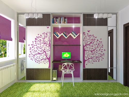 homedesigning:  Cute Girls' Rooms